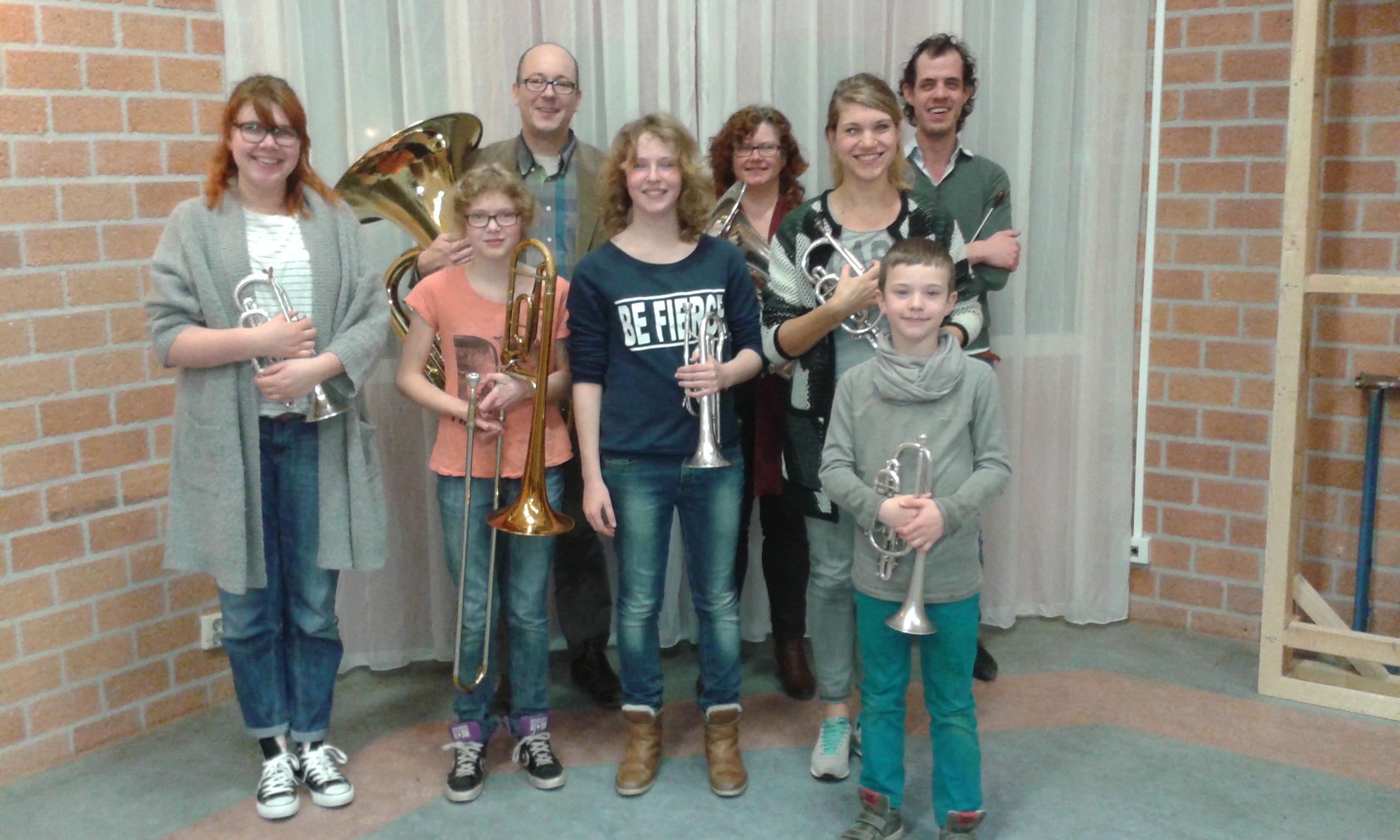 B-Band van Brassband David is gestart!